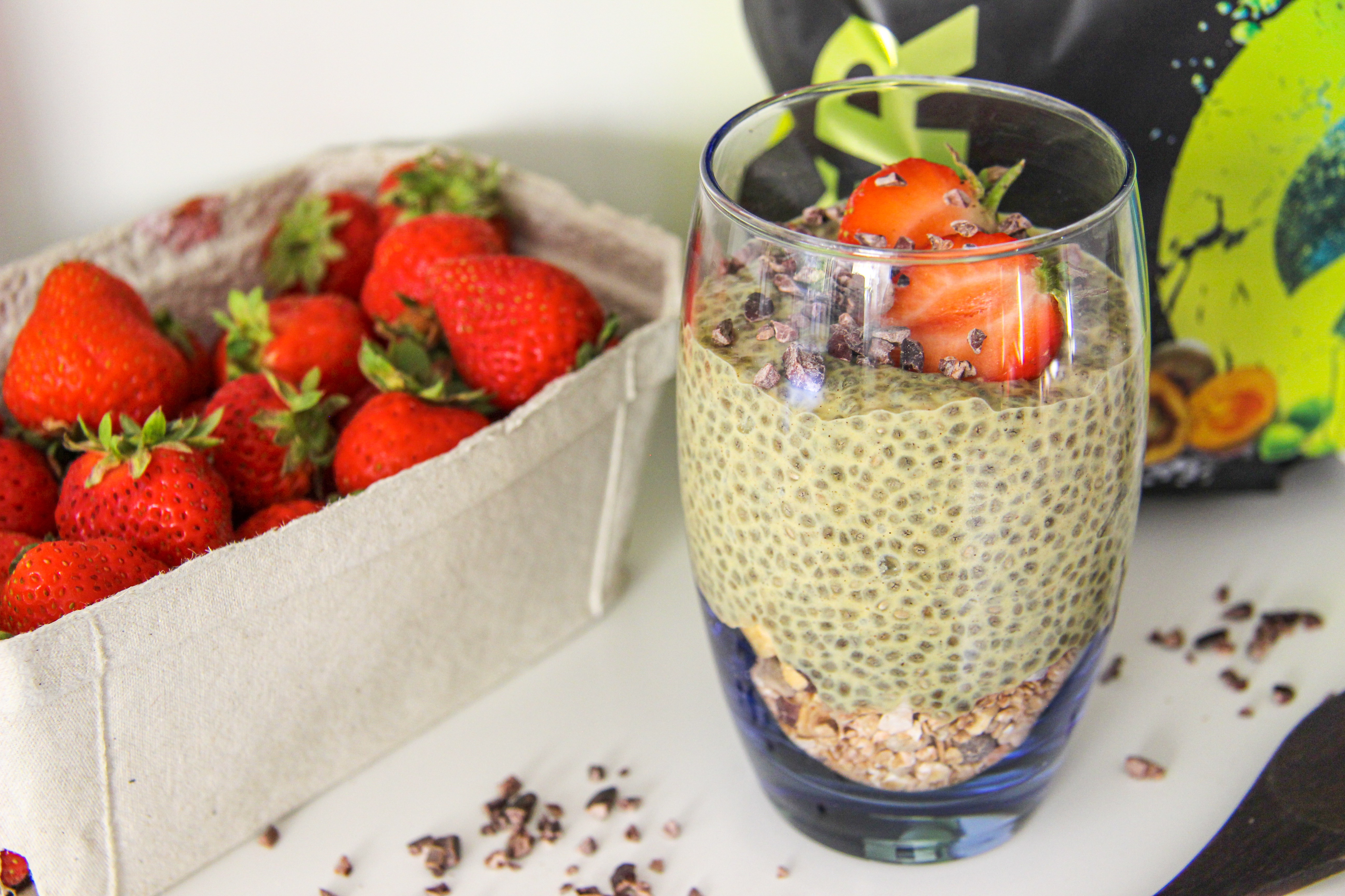 salted caramel chia pudding 3